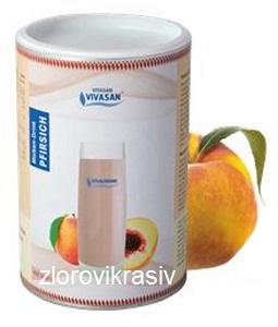 Молочная сыворотка с персиком